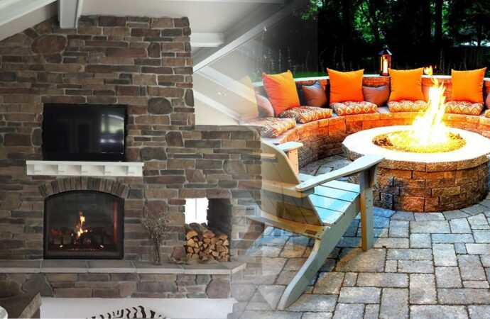 Outdoor Fireplaces & Fire Pits-Dallas TX Landscape Designs & Outdoor Living Areas-We offer Landscape Design, Outdoor Patios & Pergolas, Outdoor Living Spaces, Stonescapes, Residential & Commercial Landscaping, Irrigation Installation & Repairs, Drainage Systems, Landscape Lighting, Outdoor Living Spaces, Tree Service, Lawn Service, and more.